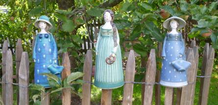 Gartenkeramik frostfest